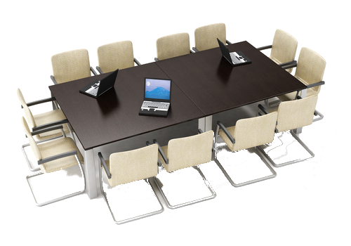 Image of a conference table